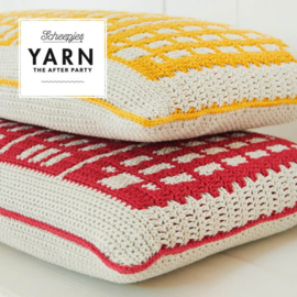 Canal Houses Cushion Yarn The after Party nr. 80 Rood
