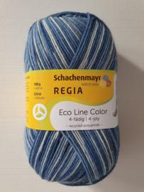 Regia Eco Line Color Blauw