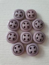 Vierkante Lila knoopjes