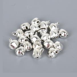 Belletjes Zilver 20 stuks Ø 8 mm
