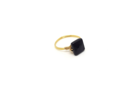 Story Power – Ring Onyx Goud