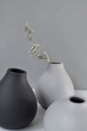 Kalla small grey vase