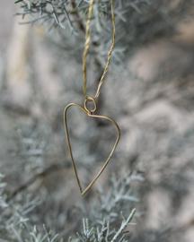 Wire hearts ornament