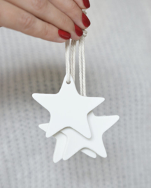 Ster ornament wit