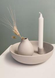 Lidatorp Large Light Grey Candle holder