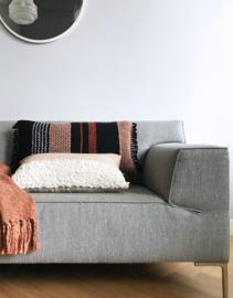 Multicolor Black Cushion