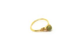 Mini Harmony – Ring Jade Goud