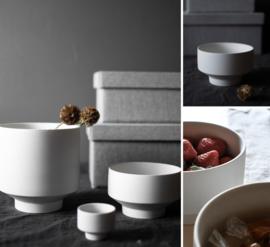 Kiaby white bowl
