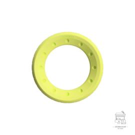 Foaber roll ring foam / rubber groen
