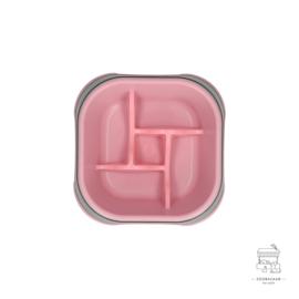 Eat Slow Live Longer Amaze Pinwheel Pink M