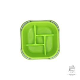 Eat Slow Live Longer Amaze Pinwheel Green M