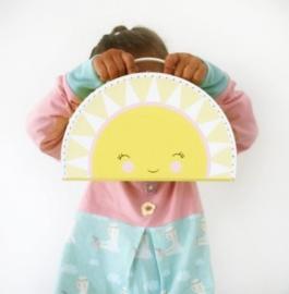 Kids boetiek koffertje zon