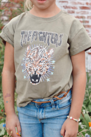 Tiger shirt green KIDS