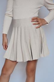 Lila skirt creme