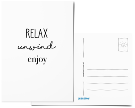 Postcard | Relax, unwind, enjoy