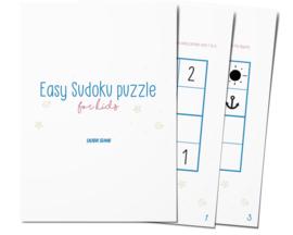 Sudoku puzzle worksheet
