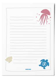 Notepad | Sea creatures
