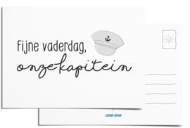 Postcard | Fijne vaderdag, onze kapitein