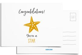 Postcard | Congratulations