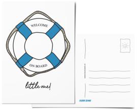 Postcard | Welcome On Board