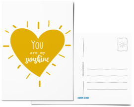 Postcard | You are my sunshine