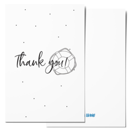 Mini card | Thank you