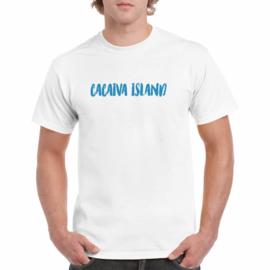 T-shirt | Cacaiva Island logo