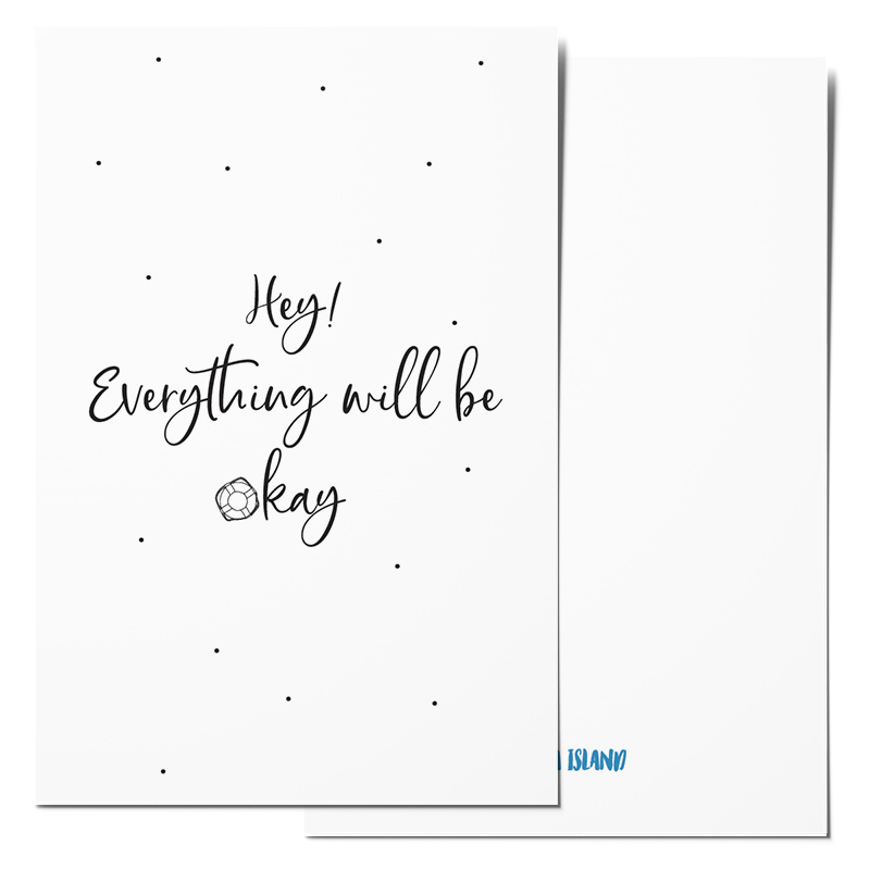 Mini card | Hey! Everything will be okay