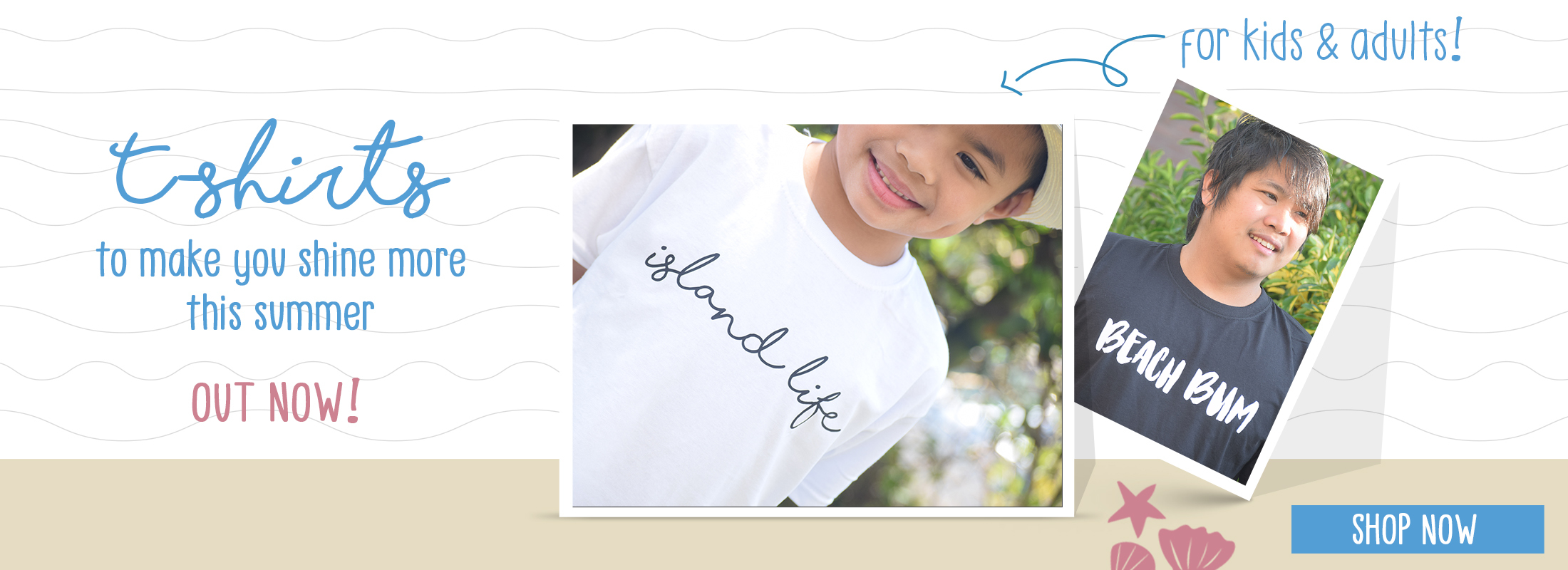 Cacaiva Island t-shirts