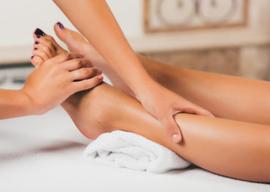 Ontspannende spa-behandeling voor voeten & onderbenen