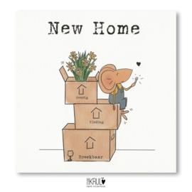Verhuiskaarten  New Home (set van 10)