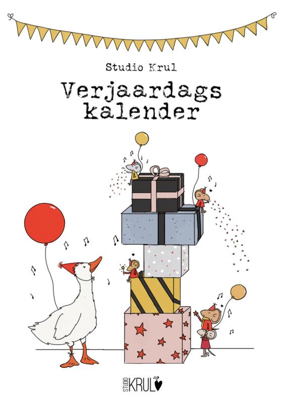 Studio Krul Verjaardagskalender