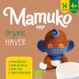 Mamuko biologische pap 4+ mnd - haver
