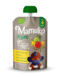 Mamuko biologische haverpap met vruchten 4+ mnd