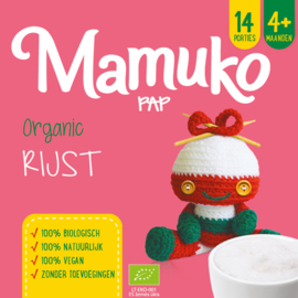 Mamuko bouillie bio riz 4+ mois