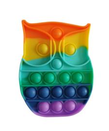 Pop the bubble regenboog uil