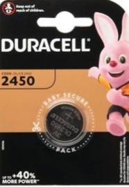 Duracell 2450 knoopcel 3 volt lithium