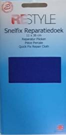 Restyle snelfix reparatiedoek blauw opstrijkbaar