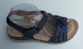 YQ 2005 sandaletten blauw maten 36 t/m 41
