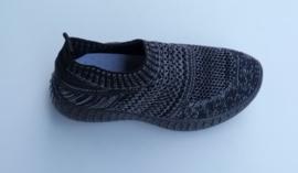 Stretch schoenen zwart LW-3581 maten 26 t/m 34