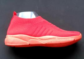 FC 528  stretch schoen  rood 36 t/m 41