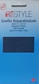 Restyle snelfix reparatiedoek jeans blauw opstrijkbaar