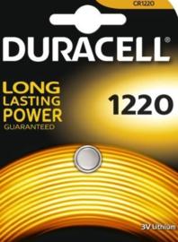 Duracel lithium knoopcel 1220   3 volt