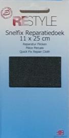 Restyle snelfix reparatiedoek jeans zwart opstrijkbaar