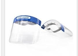 face shield elastieken band