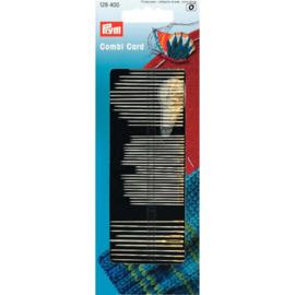 Prym 128400 Naai-, borduur-, stopnaalden + draaddoorsteker.
