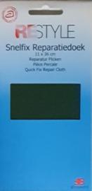 Restyle snelfix reparatiedoek groen opstrijkbaar