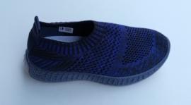 Stretch schoenen blauw LW-3581 maten 26 t/m 34