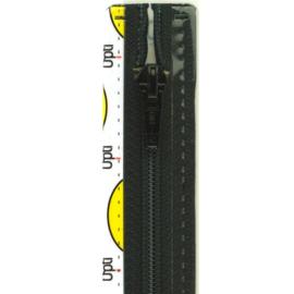 Optilon deelbare rits fijn 30 cm t/m 80 cm. zwart, klik hier voor een andere maat.  Vanaf