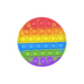 Pop the bubble rond regenboog